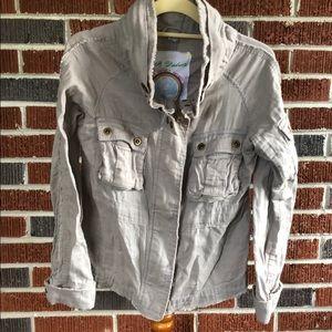 BB Dakota grey lightweight jacket Size Medium